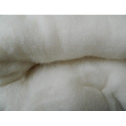 Carded Wool Batting/Fleece/Stuffing 100g
