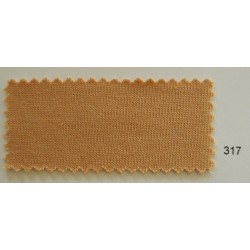 Laib Yala Swiss Tricot Body  317 (25cm x 160cm) Dark Peach