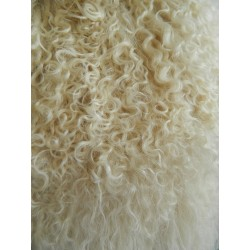 "Tibetan Lamb Natural Blonde 9"" x 11"""