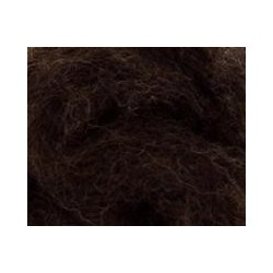 Carded Sliver 50g - Bear Brown