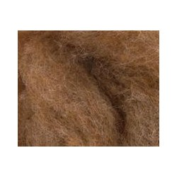 Carded Sliver 50g - Medium Fawn