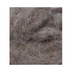 Carded Sliver 50g - Medium Grey