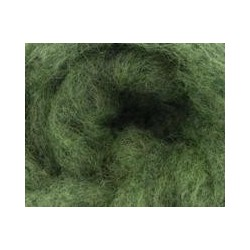Carded Sliver 50g - Green Moss