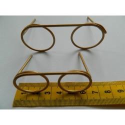 Glasses Bronze Effect 80mm...