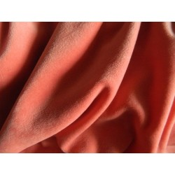 Cotton Velour Deep Rose 1/2m