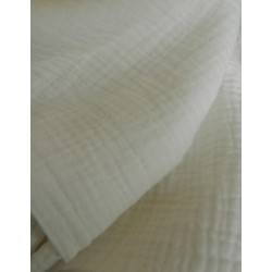 Double Gauze 1/2m White