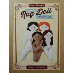 Simple to make Rag Doll 54cm