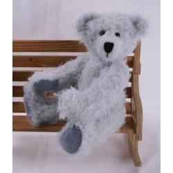 Bear Pattern Silver 35cm