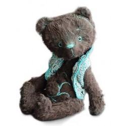 Bear Pattern Korvin 16cm