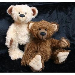 Bear Pattern Barny 32cm